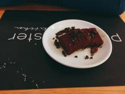 Mini taster dessert