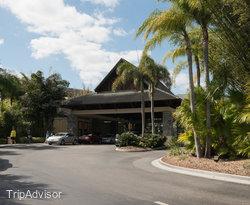 Entrance at the Loews Royal Pacific Resort at Universal Orlando