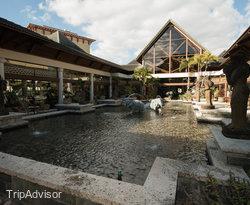 Garden at the Loews Royal Pacific Resort at Universal Orlando