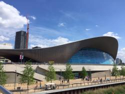 The London Aquatic Centre & the Olympic Park is just around the corner from the hotel!