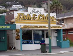 ‪Albany Fish & Chips‬