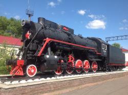 Monument Locomotive Pobedy L-2248