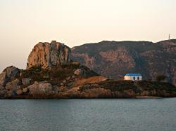 L'isola di kastri dalla basilica