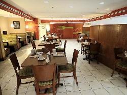 Kem's restaurant inside hotel