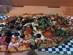 Pizza at Lake Eola