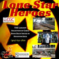 Lone Star Heroes: Comics & Toys