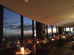 O Bar view inside at Sunset