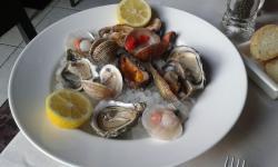 Degustazione frutti di mare