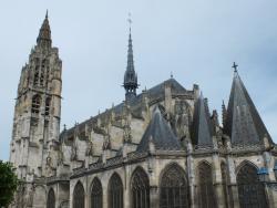 Caudebec-En-Caux: Town & Cathedral
