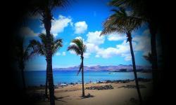 A cinco minutos de una playa paradisíaca..