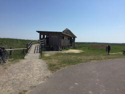 Pramort Naturschutzgebiet Kranichbeobachtungspunkt