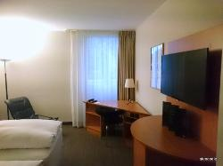 One night stay at NH Frankfurt Airport West