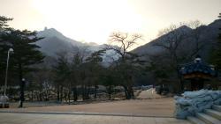 Pemandangan saat berada di kaki bukit
