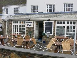 Haven Cafe. Crackington Haven nr Bude Cornwall