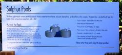 Sulphur Pools advice