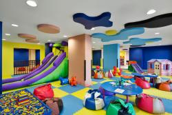 Kid's Club, a fully-equipped, fully-supervised child-friendly area with daily activities