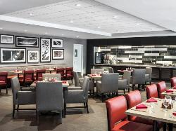Our on-site restaurant serves breakfast and dinner with indoor and outdoor seating available.