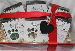Pawprint Chocolate