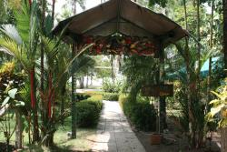 Entrance to Rafiki Beach Camp