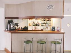Le bar de La Mandarine