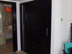 Swim out suite room 701 sliding closet doors holds suit cases