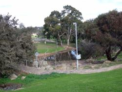 View of the spring