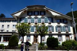 Charming hotel in sleepy sidelanes of Interlaken