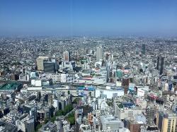 阳光大厦60层展望台