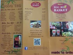 Maiv's Eggroll Basket