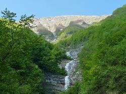 Cascata della Volpara e della Prata