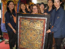 Traditional Thangka Paintings Gallery & Workshop