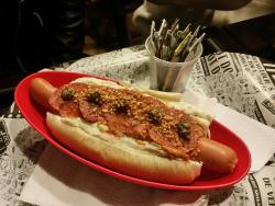 Louie's Gourmet Hot Dog