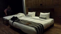 Que placer esa cama!!!