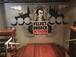 Velvet Burger Octagon