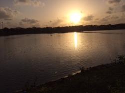 Nerul Lake-sunset views
