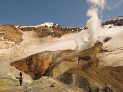 Volcano Mutnovsky