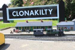 再現されたクロナキルティ駅。