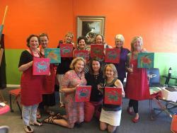 Wine Your Art Studio, Wine & Paint Classes in Beaufort