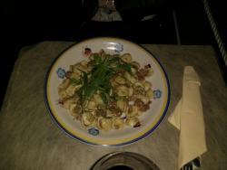 Orecchiette salsiccia e tartufo nero