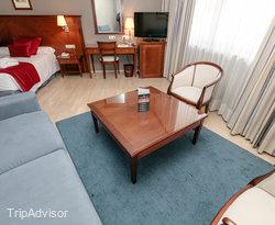 The Junior Suite at the Golden Tulip Andorra Fenix Hotel