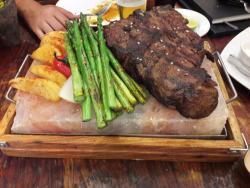 Carne añeja 100% Coahuilense. Un MUST si visitas Don Artemio.