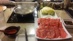 Kobe Beef with Sirloin Zabu Zabu