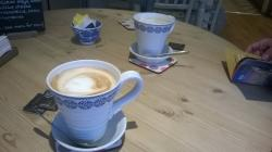 Two tasty Latte's