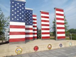 Veterans Freedom Flag Monument
