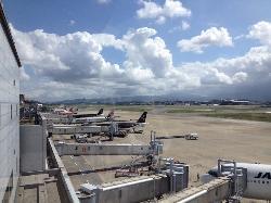 福冈机场航站楼观察室