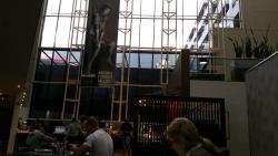 Dining room just under lobby