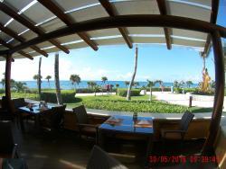 Vista desde restaurante desayunos