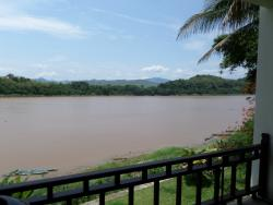 Mekong river from veranda