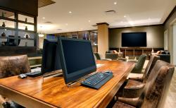 Newly renovated business center located on lobby level offers desktops and printing capabilities