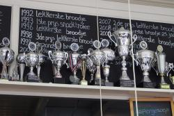 trophies for breadmaking at Stads-Koffyhuis